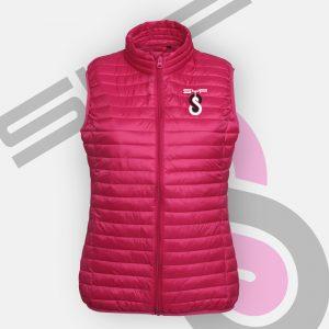 Ladies Pink Bodywarmer