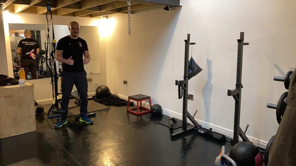 Rhys Personal Training PT gym instructor