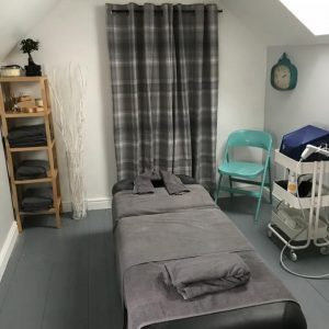 Clinic Massage Table Treatment Room